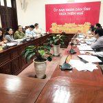 VNABC tổ chức làm việc với Tỉnh Thừa Thiên Huế