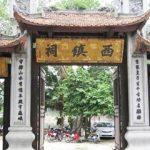 Đền voi phục là nơi thờ thần Linh Lang Đại Vương