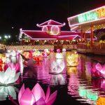 Rước dâu Thuyền hoa duy nhất giữa Sài Gòn