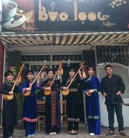 Giới thiệu văn hóa Hà Giang tại Bảo Toọc Café.