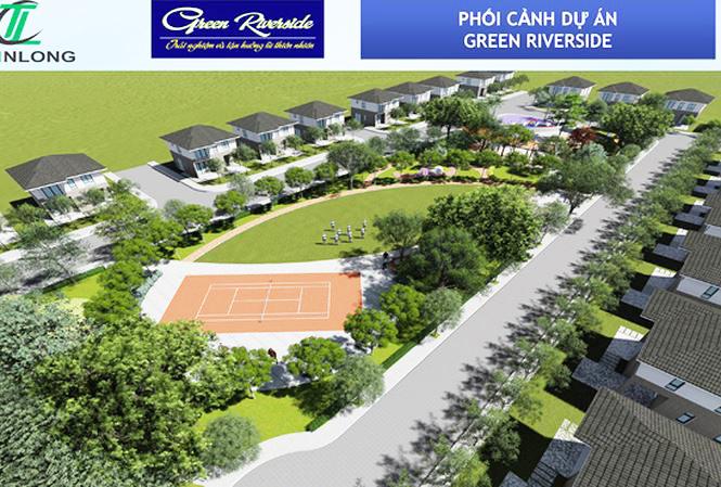 Dự án Green Riveside không nằm ngoài sự chú ý của các nhà đầu tư.