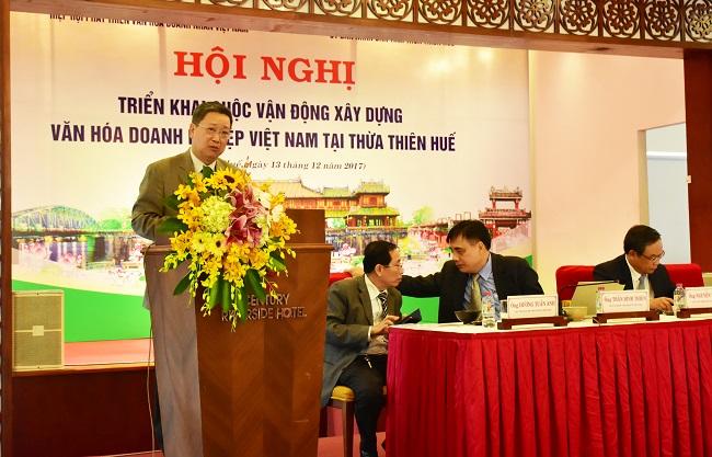 Ông Hồ Anh Tuấn, Chủ tịch Hiệp hội Phát triển Văn hóa Doanh nghiệp Việt Nam