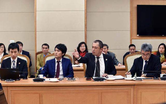 Các DN Nhật nêu vướng mắc tại buổi đối thoại. Ảnh: Nhật Bắc
