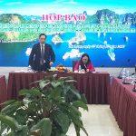 Họp báo công bố kế hoạch triển khai chương trình năm Du lịch quốc gia 2018 Hạ Long–Quảng Ninh