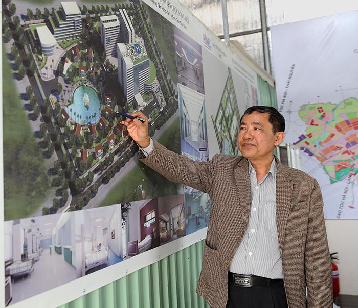 Chủ tịch HĐQT-TGĐ Lý Đình Sang giới thiệu khu nghỉ dưỡng sinh thái phục vụ 700 giường điều dưỡng