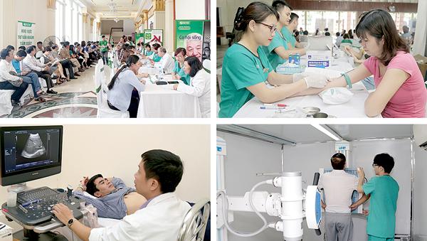 Bệnh viện Thu Cúc đã tiến hành điều trị, phẫu thuật thành công nhiều ca bệnh khó.