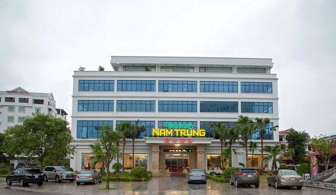Trụ sở Công ty Nam Trung tại TP. Móng Cái.