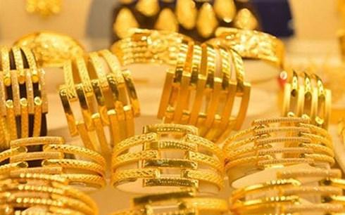 Giá vàng đang có dấu hiệu đi lên (Ảnh minh họa: KT)