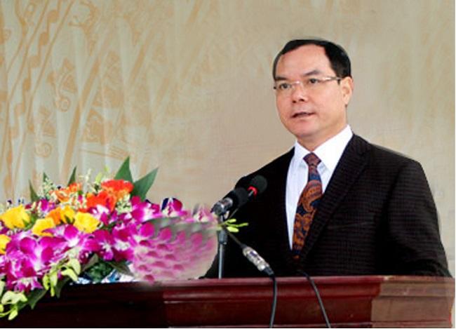 Bí thư Tỉnh ủy Hà Nam Nguyễn Đình Khang.