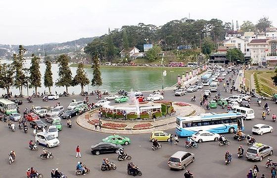 Đà Lạt - điểm đến thu hút rất đông khách du lịch trong dịp Tết. Ảnh: NAM VIÊN
