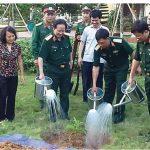 Thượng tướng Nguyễn Huy Hiệu và ký ức Tết trồng cây ở Hòa Bình