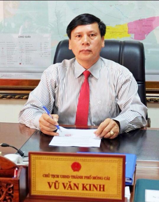 Ông Vũ Văn Kinh - Chủ tịch UBND TP. Móng Cái.