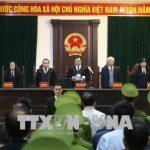 Đang tuyên án ông Đinh La Thăng, Trịnh Xuân Thanh và các đồng phạm