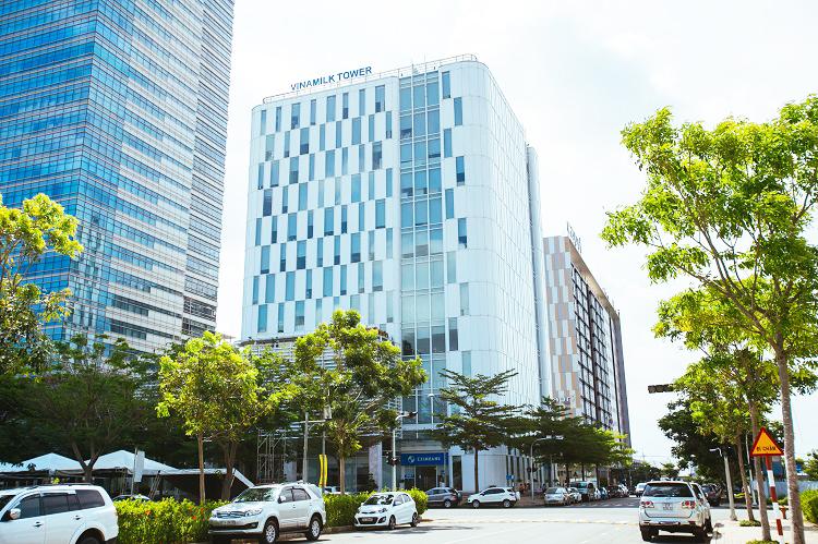 Trụ sở chính Công ty Vinamilk tại TP. HCM.