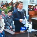 Nói lời sau cùng, ông Thăng xin lỗi Đảng, xin lỗi Nhà nước, nhân dân