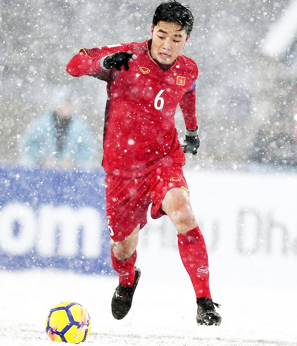 Xuân Trường là trái tim để tổ chức lối chơi cho U23 Việt Nam