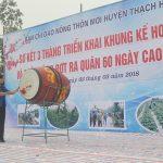 Người dân Thạch Hà sôi nổi ra quân xây dựng nông thôn mới