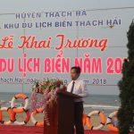 Hà Tĩnh: Huyện Thạch Hà long trọng tổ chức khai trương mùa du lịch biển Thạch Hải