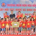 Trường mầm non Hoa Hồng:Nơi ươm những mầm xanh