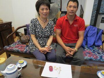 Nhặt được vàng, nhân viên taxi tải Thành Hưng trả lại cho người mất