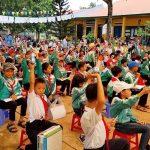 Hơn 16.000 ly sữa cho trẻ em nhân ngày sữa thế giới 2018