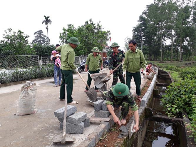 """Xã Thượng Lộc – Can Lộc – Hà Tĩnh:""""Viên ngọc sáng"""" xây dựng nông thôn mới"""