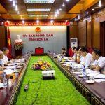 Ban tổ chức Cuộc vận động Xây dựng Văn hóa Doanh nghiệp Việt Nam làm việc với UBND tỉnh Sơn La