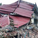 Thanh Hóa: Trường tiểu học đổ sập, nhiều người may mắn thoát chết