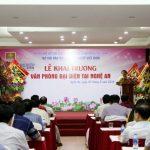 Khai trương Văn phòng đại diện Tạp chí VHDNVN tại Nghệ An
