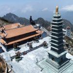 Tận mắt chiêm ngưỡng sự kỳ vỹ của những công trình tâm linh trên núi