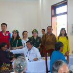 TP.HCM: Khám bệnh, phát thuốc miễn phí, tặng quà cho hơn 500 người dân ở Cần Giờ