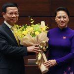 Ông Nguyễn Mạnh Hùng làm Bộ trưởng Thông tin và Truyền thông