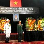 TP.HCM : Lễ viếng nguyên Tổng Bí thư Đỗ Mười