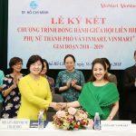 VINMART & VINMART+ đồng gành cùng hội Liên hiệp Phụ nữ TP.HCM