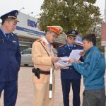 Công an Thành Phố Móng Cái tăng cường kiểm tra xử lý xe vi phạm