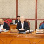 Bộ Chính trị họp đánh giá kết quả kiểm tra thực hiện Nghị quyết Trung ương 4 khóa XII