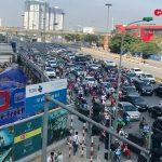 """Hà Nội: Quyết tâm xử lý những điểm """"đen"""" thường xuyên xảy ra ùn tắc giao thông"""