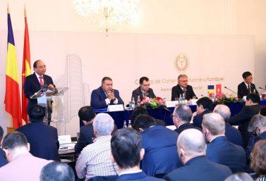 Thủ tướng: Phải có tăng trưởng đột biến trong quan hệ hợp tác Việt Nam – Romania