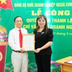 Thành lập Chi bộ Tạp chí Văn hóa Doanh nghiệp Việt Nam