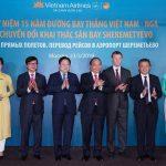 """Thủ tướng: Vietnam Airlines là """"sứ giả"""" cho sự hợp tác hữu nghị Việt – Nga"""