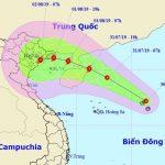 Áp thấp nhiệt đới trên Biển Đông đã mạnh lên thành bão số 3
