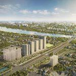 """Thành phố mới với những công trình """" vươn tầm thế kỷ"""" bên sông Hồng"""