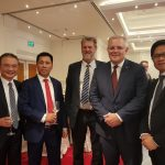 Thủ tướng Australia và Phu nhân gặp gỡ các doanh nghiệp hàng đầu Việt Nam