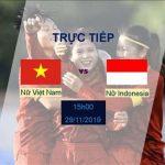 Trực tiếp bóng đá Nữ Việt Nam 5-0 Nữ Indonesia (H2): Ba bàn trong 20 phút