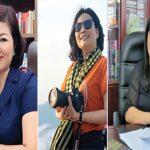 VHDN: Ba cô gái làng báo đất tổ