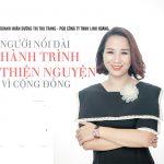 Doanh nhân Dương Thị Thu Trang – PGĐ công ty TNHH Linh Hoàng