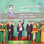 Doanh nhân trẻ Đinh Duy Phú : Top 10 doanh nhân trẻ khởi nghiệp xuất sắc  năm 2019