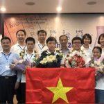 Việt Nam giành 4 huy chương Vàng Olympic Hóa học Quốc tế