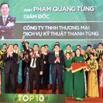 """CEO công ty thương mại-dịch vụ-kỹ thuật Thanh Tùng : """"Doanh nhân trẻ khởi nghiệp xuất sắc 2019"""""""