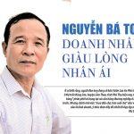 Nguyễn Bá Toan doanh nhân giàu lòng nhân ái